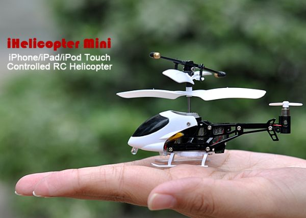 iHelicopter Mini – iPhone/iPad/iPod Touch Controlled RC Helicopter