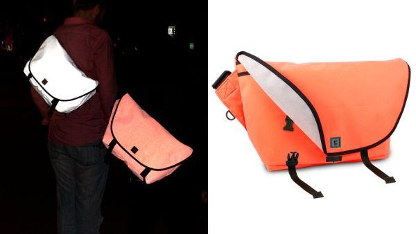 Luminescent Messenger Bag