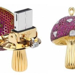 $37,000 for a Jewel-Encrusted Magic Mushroom Flash Drive