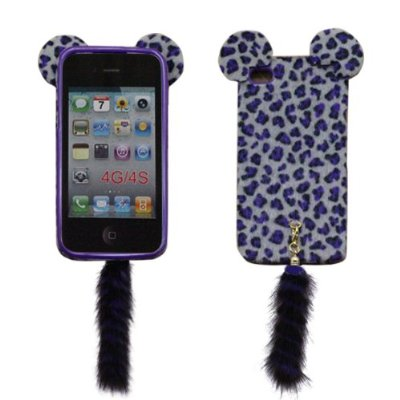 Case Leopard Animal Skin for Iphone 4S