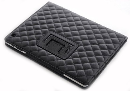Luxury case black for ipad 2 and 3