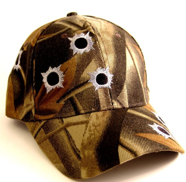 CAMO Hat – Embroidered – Adjustable