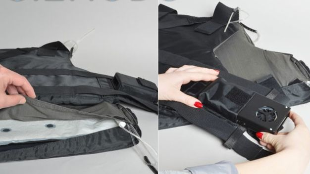 Air-Conditioned Flak Jackets