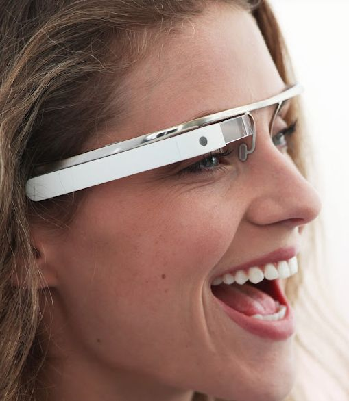 Prototype Google Glasses