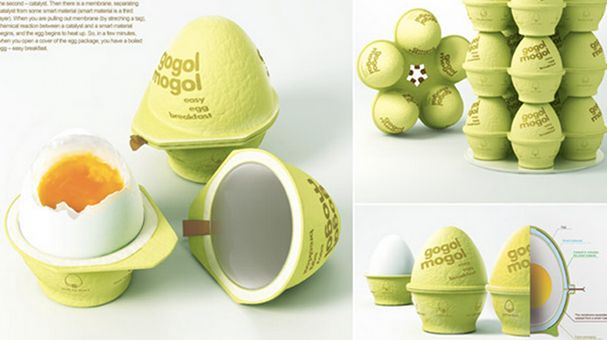 Self-Cooking Egg Grenade