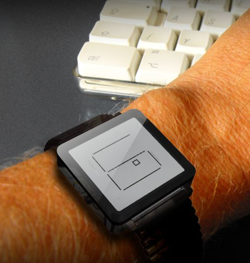 LCD watch has retro graphics appeal