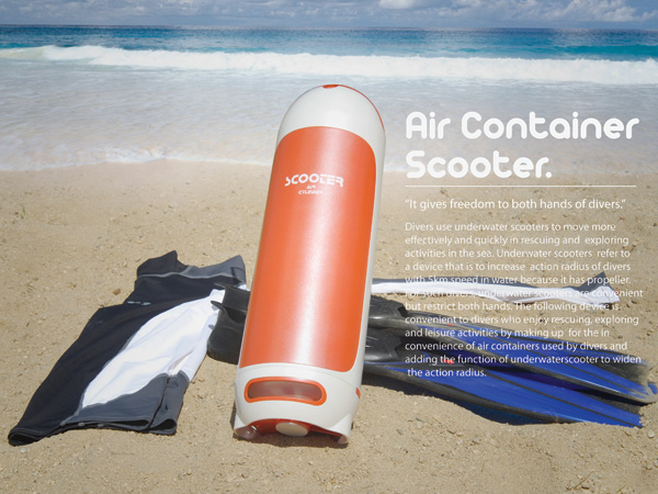 Air Container Scooter