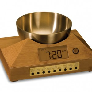Singing Bowl Alarm Clock