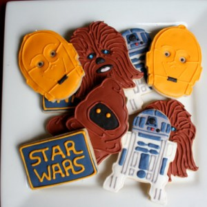 Star Wars Theme sugar cookies