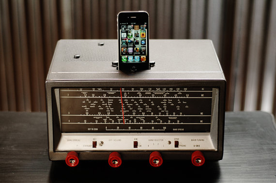 Ipod iphone charging station