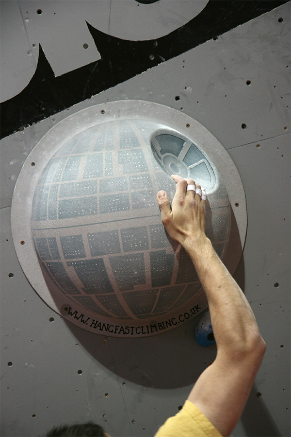 Star Wars Rock Climbing