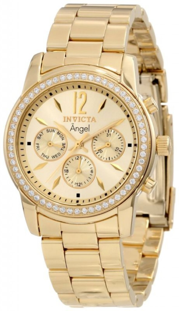 85 Discount Invicta Women S 18k Gold Ion Plated