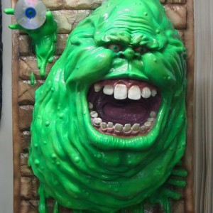 Ghostbusters Slimer 3D Wall Art