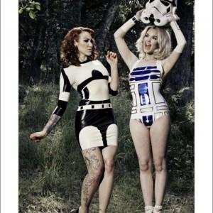 Star Wars Stormtrooper Inspired Rubber Latex Dress