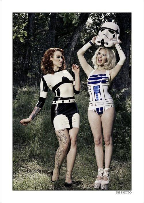 Star Wars Latex Dress