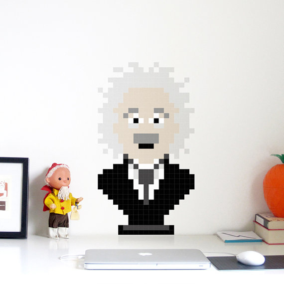 The Pixel Albert Wall Decal