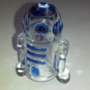 Glass R2D2 Art Pipe