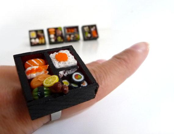 BENTO SUSHI adjustable ring