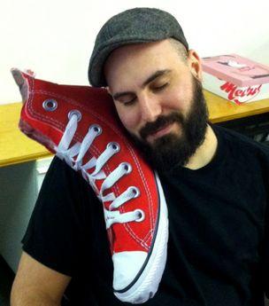 Sneaker Pillow