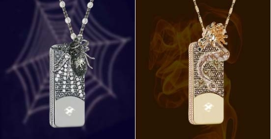 $880,000 Dragon and Spider iPhone case