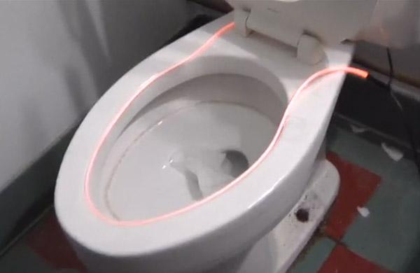 Glowing Toilet Light