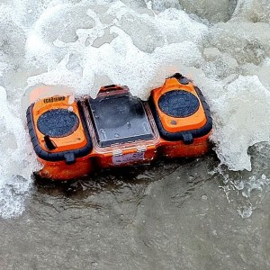 ECOXGEAR Rugged and Waterproof Stereo Boombox