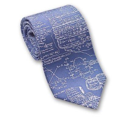 Scientific Formulas – Nuclear Physics Men's Silk Necktie