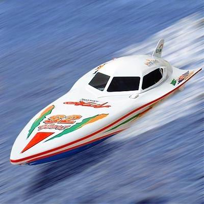 Racing Boat R/C Electric Powered  Yacht Cruiser