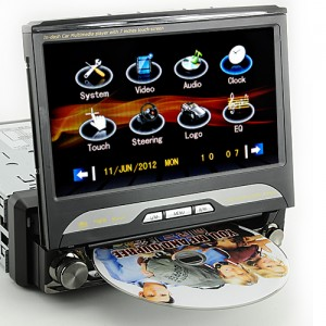 King Viper In Dash Car DVD