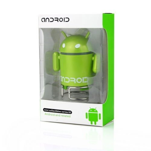 Android Robot Style Rechargeable FM/MP3 Player