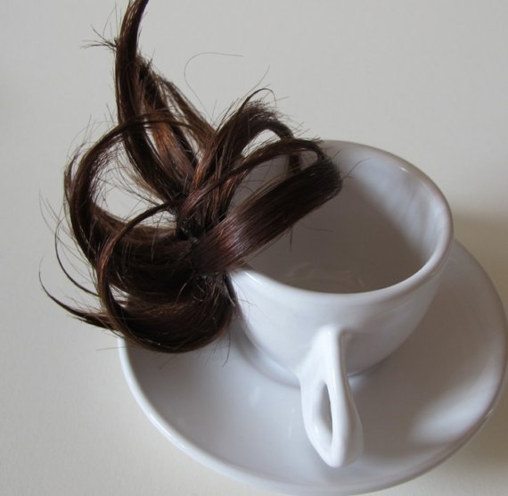 Hairy expresso coffee cup
