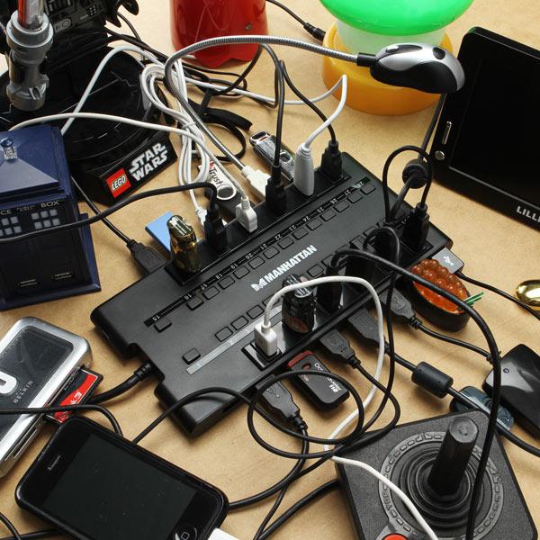 MondoHub 28 Port USB 2.0/3.0 Hub