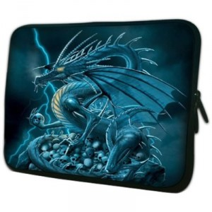 14 inch Blue Dragon Exterminator Notebook Laptop Sleeve