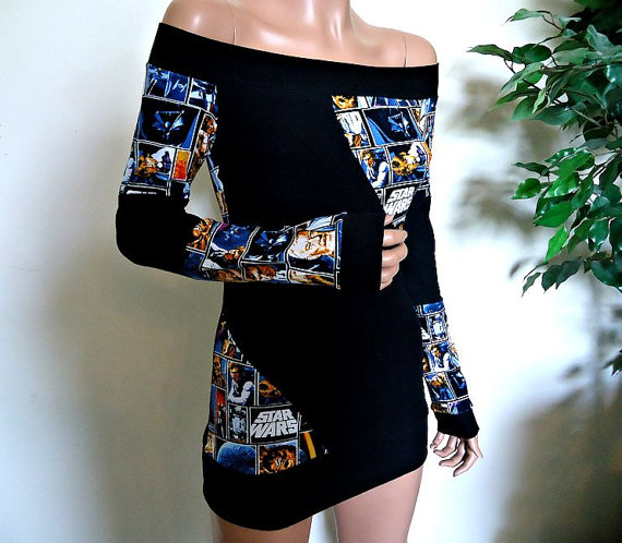 Star Wars (Off Shoulder Slant Top) Small