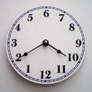Clock or Upside Down Clock