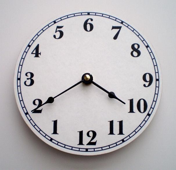 Clock or Upside Down Clock