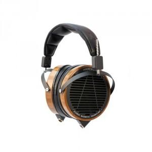 Headphones - Bamboo Wood - Leather Headband and Travel Case