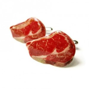 Steak Cuff Links