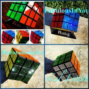 Swarovski BEDAZZLED Rubik's Cube