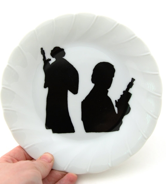 Star Wars Fan Art Dish