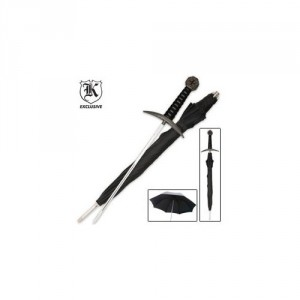 Medieval Warrior Umbrella Sword Cane