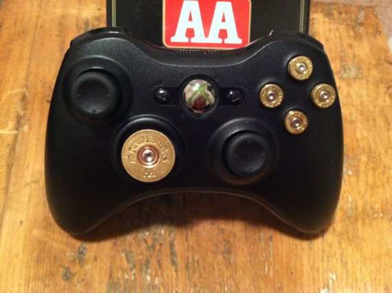 9mm Shotgun Shell bullet button Controller Video Game