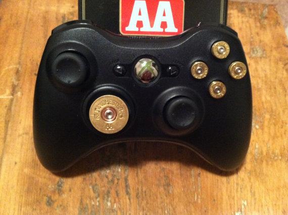 9mm Shotgun Shell bullet button Controller Video Game