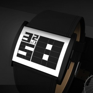 Phi-Inspired LCD Watch