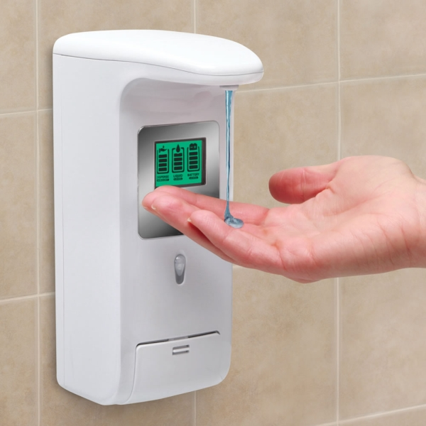 The Hands Free Shower Dispenser