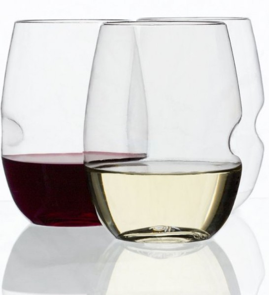 Shatterproof Stemless Wine Glasses