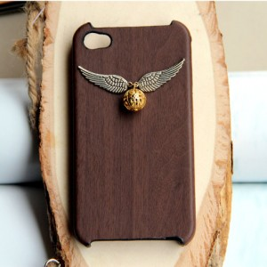 Harry Potter Enchanted Steampunk Golden snitch iPhone 4 Case Cover New Hard Fitted Case For iphone 4 & iphone 4S