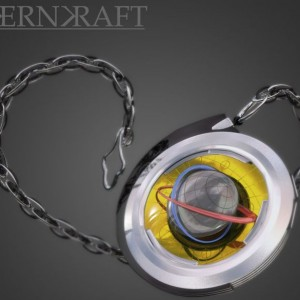 Kernkraft Steampunk Globe LED Watch