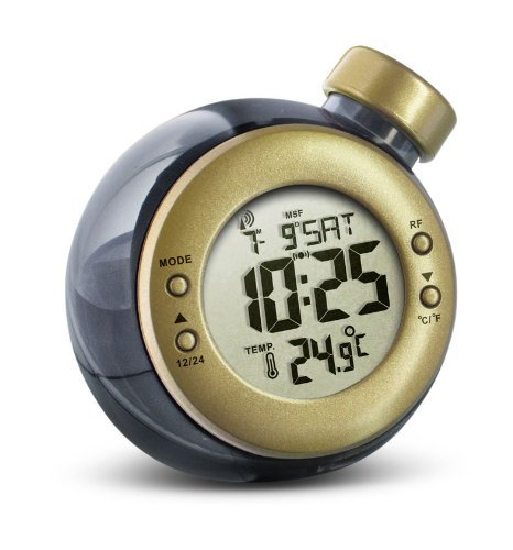 Water Powered RCC Clock With Temperature