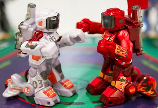 'Em Sock 'Em Robots Are Real Steel in Miniature